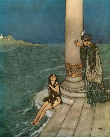 Edmund_Dulac_-_The_Mermaid_-_The_Prince