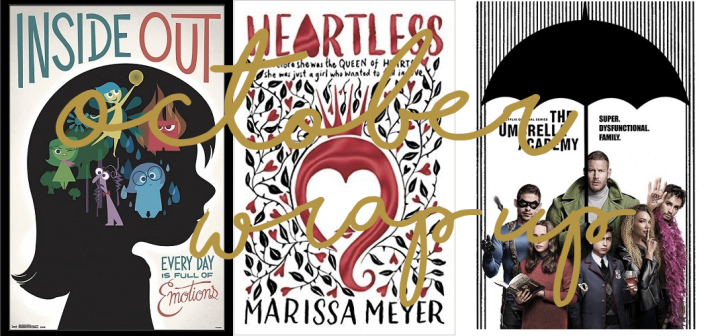 Bumper October Wrap Up (and July to September): Picture Books, Childhood Films and The UmbrellaAcademy